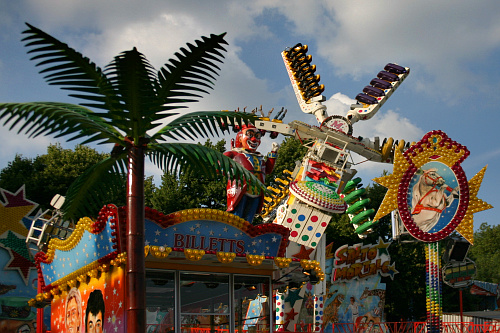 Photo of fun fair in Somme