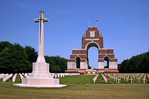 British memorial, Thiepval, Picardy